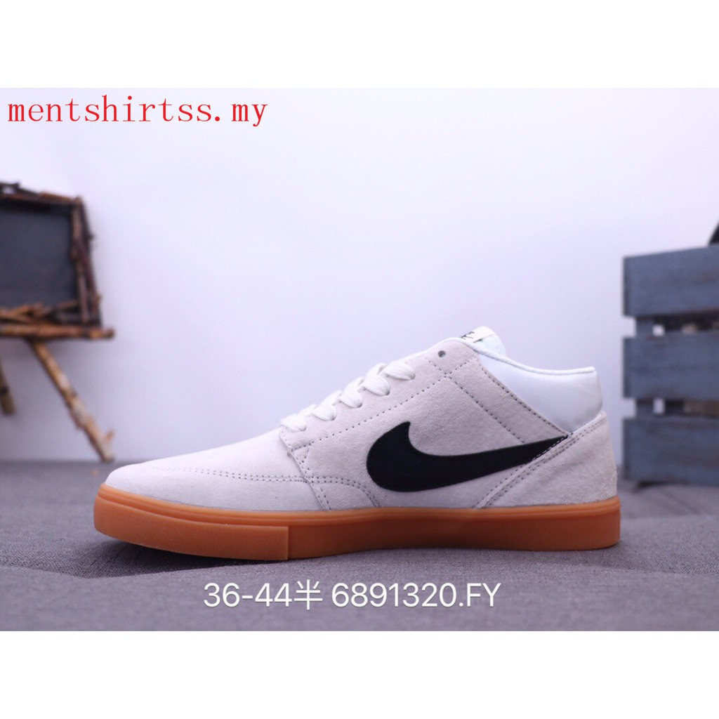 envase Alergia sustracción  Authentic Nike Sb Portmore Men Women Low Top Sneakers Walking shoes beige |  Shopee Malaysia