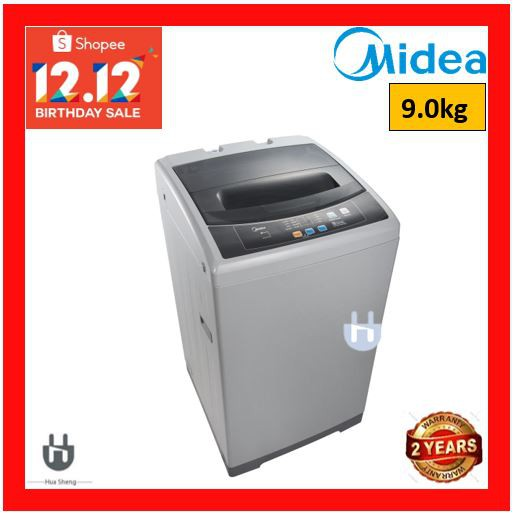 MIDEA 9.0KG FULLY AUTO WASHING MACHINE MFW-901S (9.0KG)