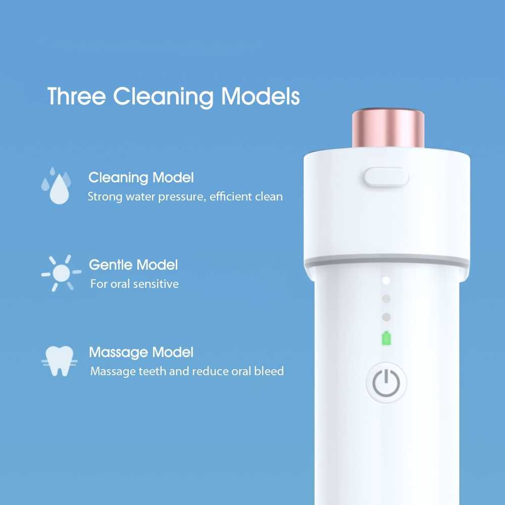 Great Discount Xiaomi Youpin Oral Cleaning Irrigator Water Jet Teeth Cleaner F3 DR.BEIF3 Water Flosser Electric Dental
