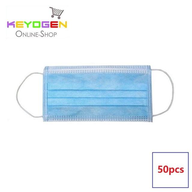 3 - Loop Ply 50pcs Haze Surgical Face Disposable Mask Ear Anti