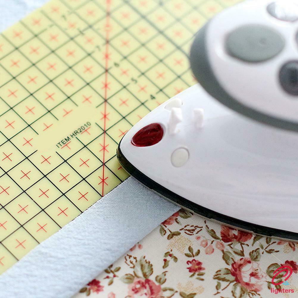 Msleep Hot Ironing Ruler Patch Tailor Craft DIY Sewing Supplies Measuring Portable Handmade Tool