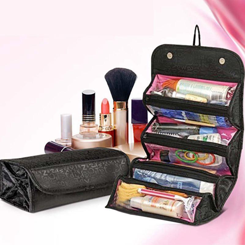 eec81b456aef Cosmetics Case Makeup Organizer Storage Bag Protable