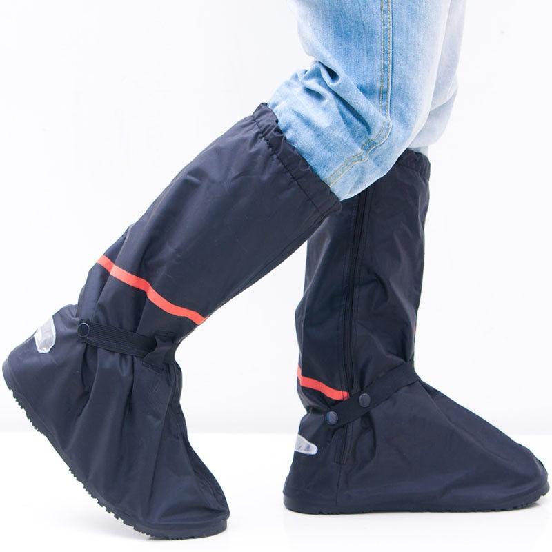 Waterproof Shoe Guard Rain Boot Cover Anti-slip Reflective Motorbike Motorcycle