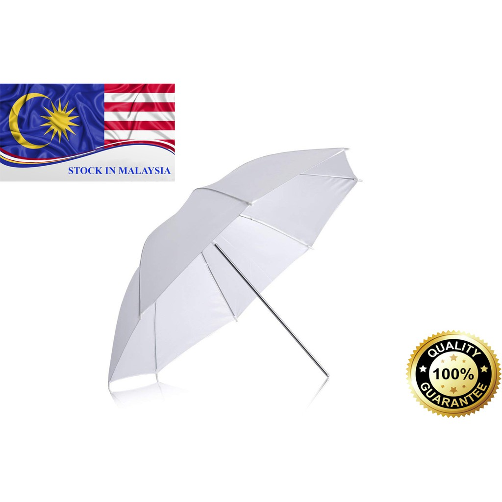 Studio Photo Standard Flash Diffuser Translucent White Umbrella 33