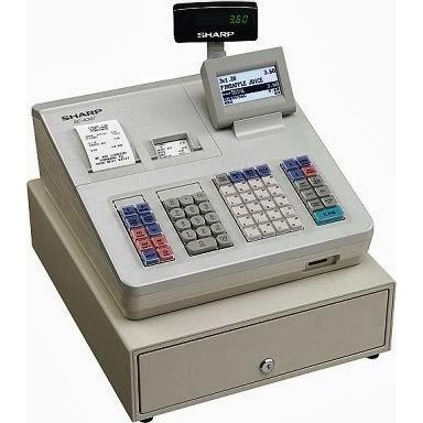 SHARP xe-a307 xea307 Cash Register INSERTO CASSETTO