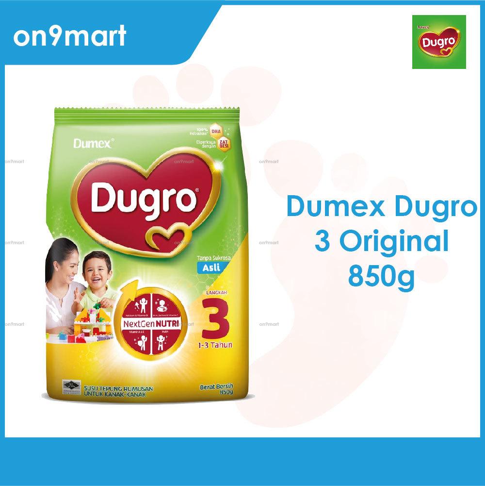 Dumex Dugro 3 Regular 1-3 Years 850g Milk Powder