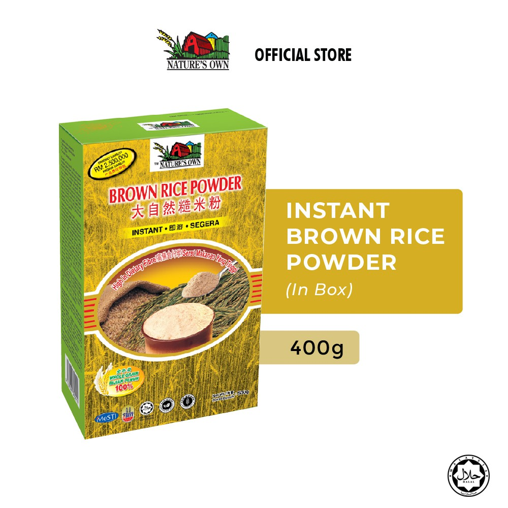 Nature's Own Instant Brown Rice Powder (400g)