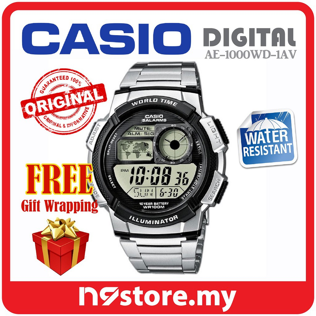Casio Men Kids Digital Watches Classic Vintage F 91w 94wa Shopee Jam Tangan Standard Ae 1200wh 1bv Malaysia