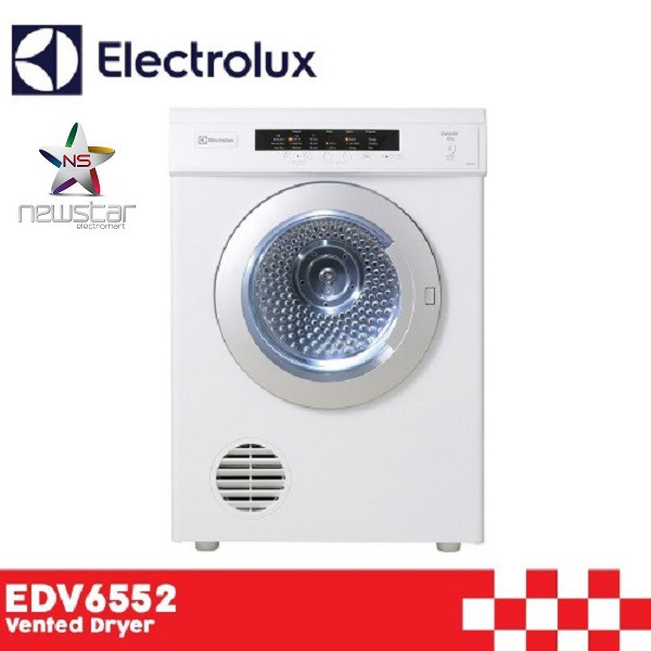 ELECTROLUX EDV6552 SENSOR DRY VENTED DRYER (6.5KG)  be0a2a4244