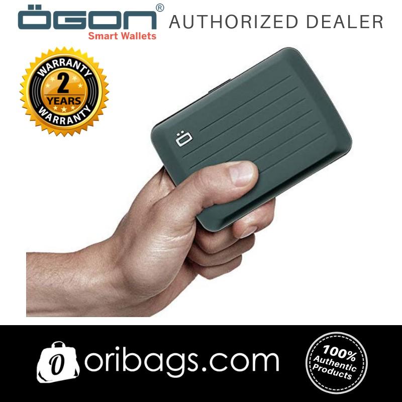 Ogon Stockholm V2 RFID Card Case Wallet Platinum