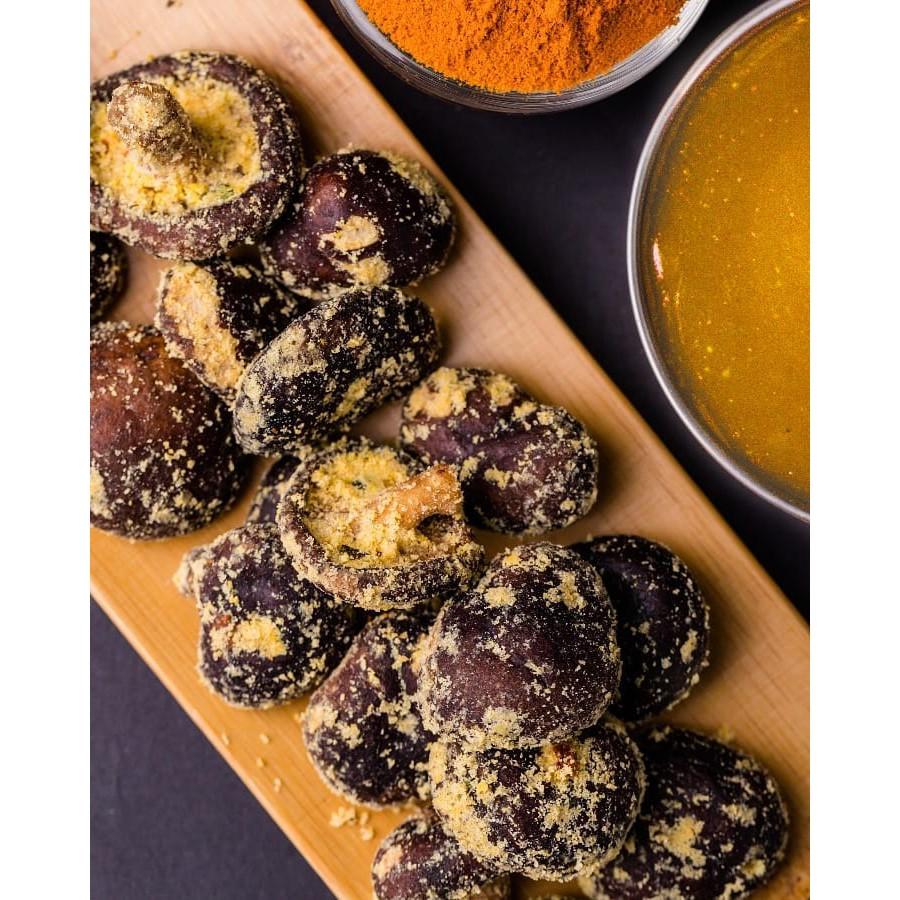 [Original] Hofu Salted Egg Shiitake Mushroom Crisps Packet (60g) 黄金咸蛋香菇脆片