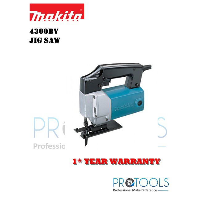 MAKITA 4300BV MAKITA JIGSAW + FOC BOSCH TA111C-s JIGSAW BLADE FOR WOOD 5PCS