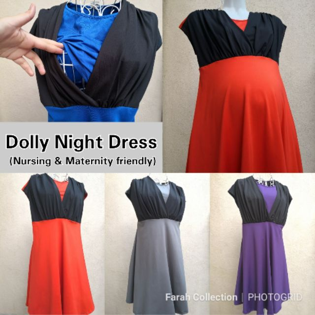 26251f40ffc74 nursing dress - Prices and Promotions - Women Clothes Apr 2019 | Shopee  Malaysia