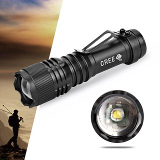 3 Modes 5000LM Lights XPE LED Mini Torch Powerful 14500 Small Flashlight