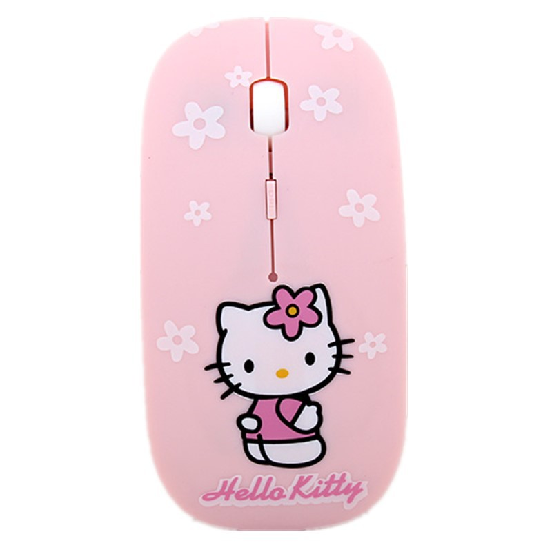 894b6bba1 ProductImage. ProductImage. Hello Kitty Wireless Mouse For Laptop Notebook  Computer ...