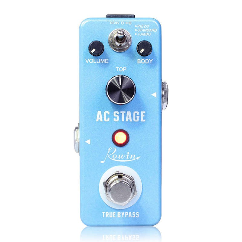 Rowin Guitar Effects Classical Ac Stage Acoustic Effects Pedal Guitar True  Bypass Design A