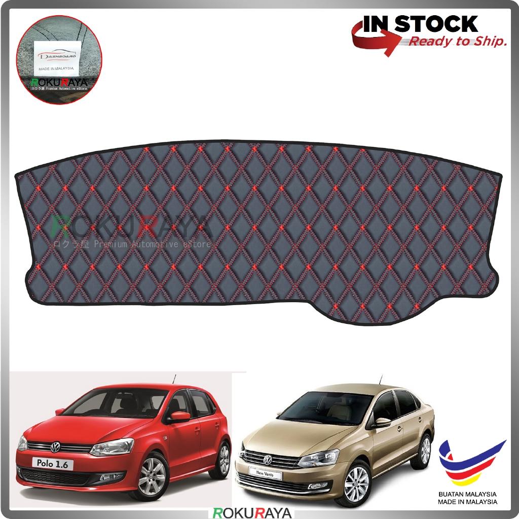 Volkswagen Polo Sedan Hatchback MK5 RR Malaysia Custom Fit Dashboard Cover (RED LINE)