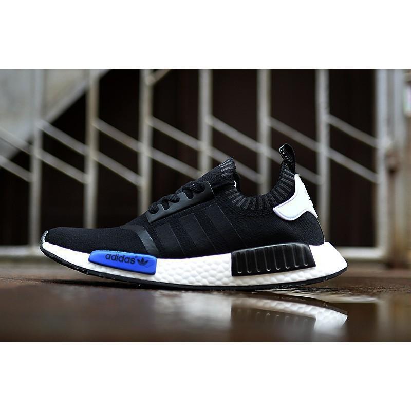 57a09ea15 Discount Bahagian Tempahan Original Adidas NMD high quality black and white