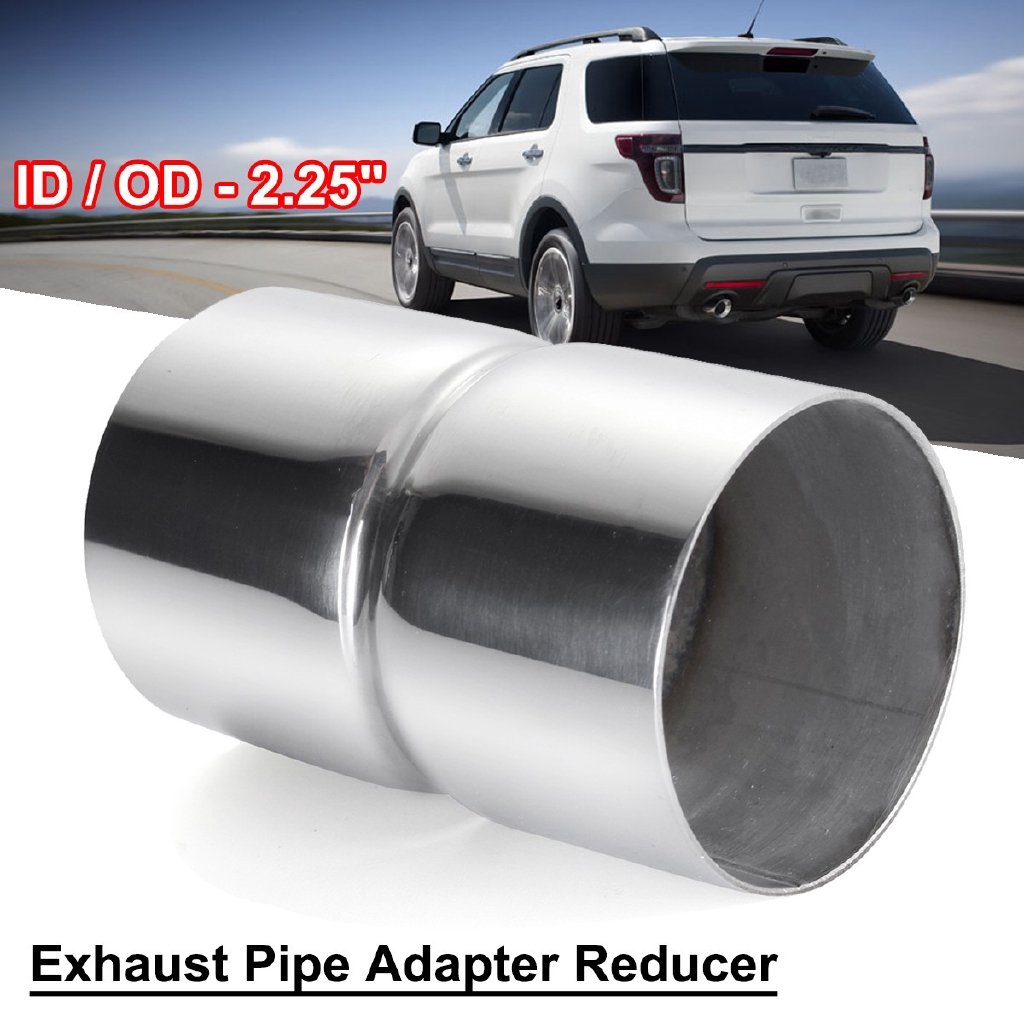 "2 25'' ID to 2 1/4""ID Stainless Steel Exhaust Pipe Connector"