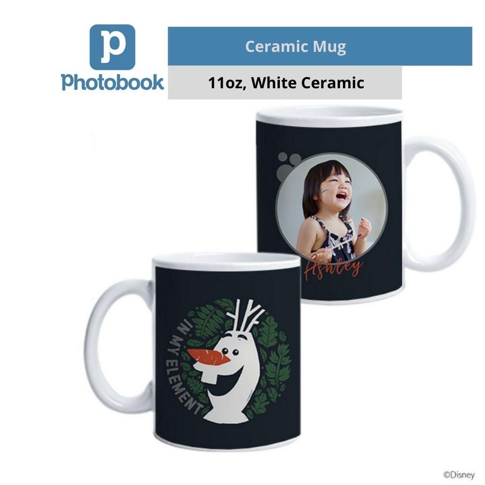 Photobook Personalized Disney Single Photo Mug (11oz)