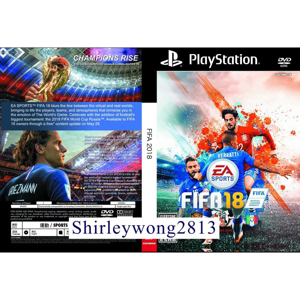 Ps2 FIFA 2018 ⚽🏃(NEW)