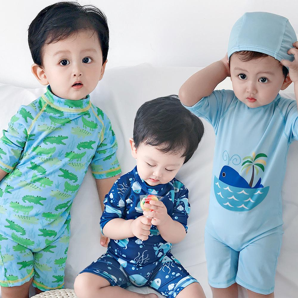 ad7c00bdbea9 READY STOCK Kids Boy Swimsuit Baby Swimming Suit Muslimah Swimwear | Shopee  Malaysia