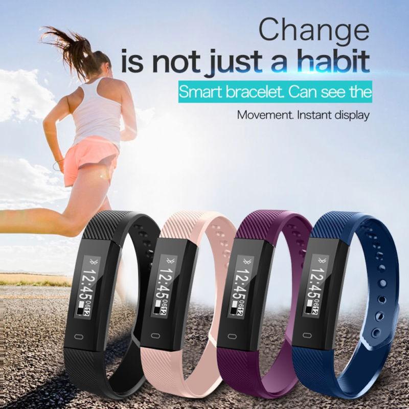 Veryfit ID115 Smart Band FITNESS TRACKER / SLEEP MONITOR Bluetooth Wristband
