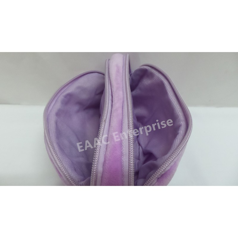Cute Cartoon My Little Pony Twilight Sparkle Poney Purple Plush Pencil Box Case