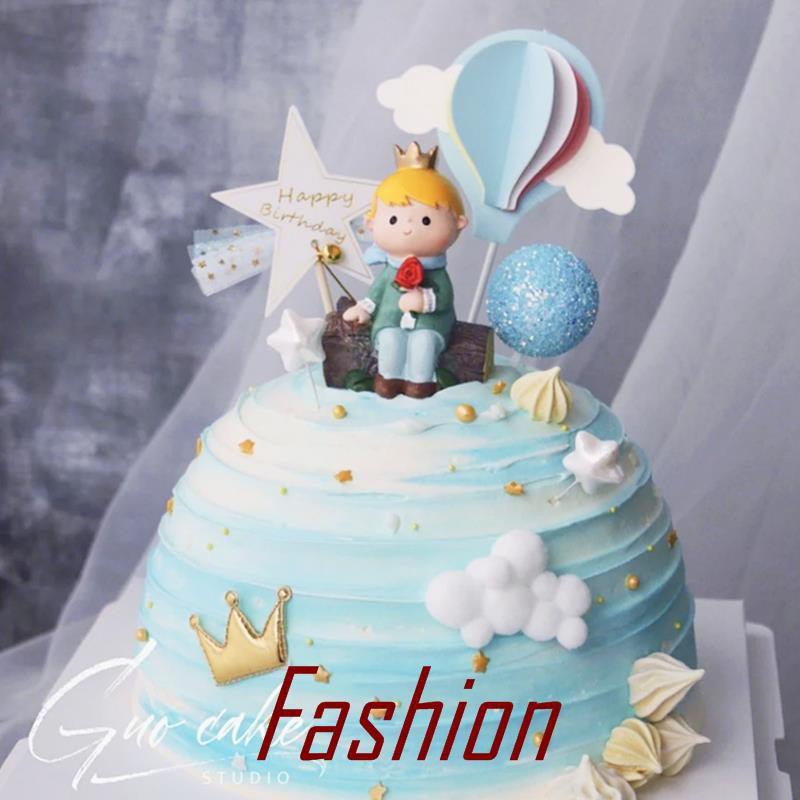 Astonishing Flying Bird Rose Overlooking Sunset Little Prince Birthday Cake Funny Birthday Cards Online Inifofree Goldxyz