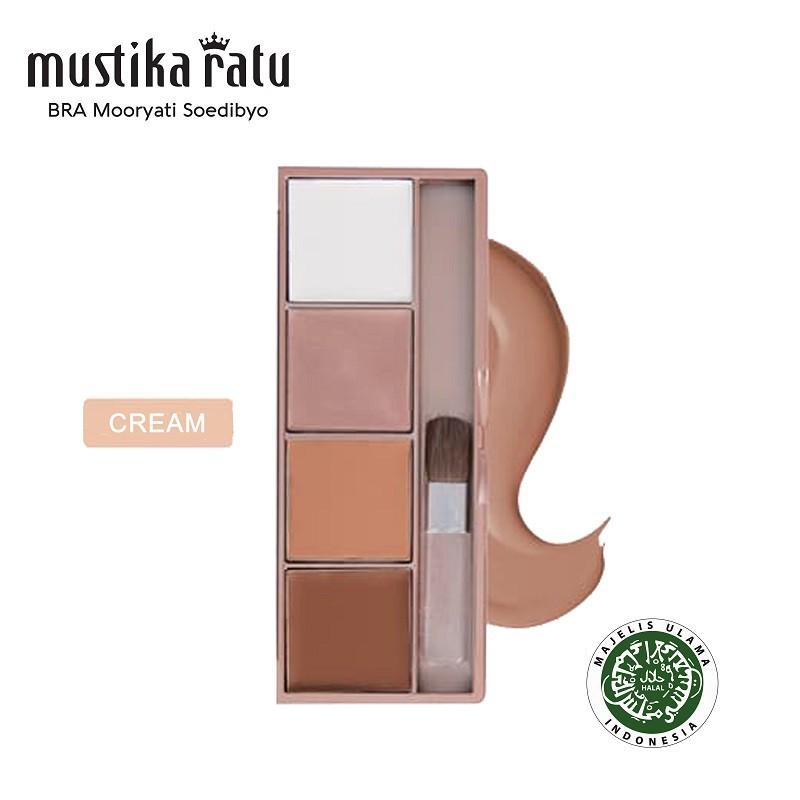Mustika Ratu Beauty Queen Face Sculpt Contour & Highlight Cream (12g)