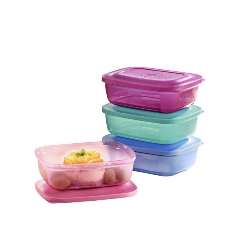 (Teachers' Day Set) LOOSE Tupperware Snack N All or Small Rectangular Saver
