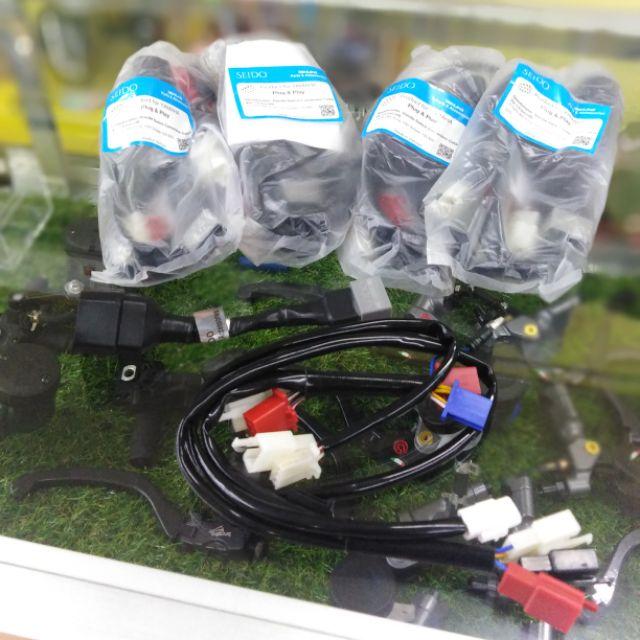 Soket wiring + meter y15zr v1 convert head v2 seido / wiring y15 v1 on