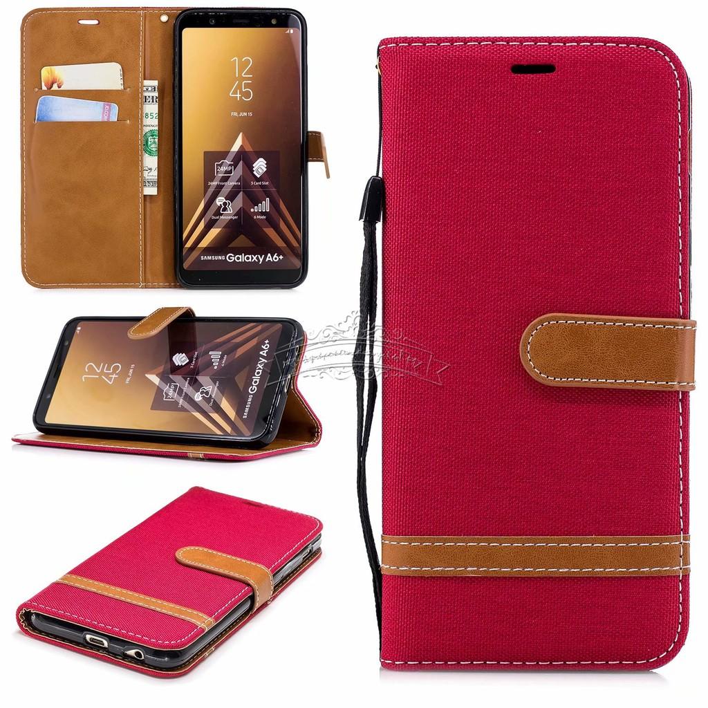 promo code 9ea45 e8a11 【Ready Stock】For Samsung Galaxy S7 S7Edge Case Cover Denim Flip Phone Case