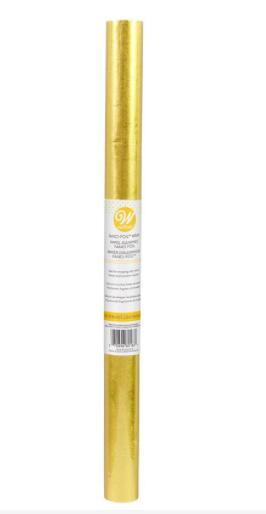 Aluminium Foil For Cake Board, Underliner Wrap  - Gold, 20''