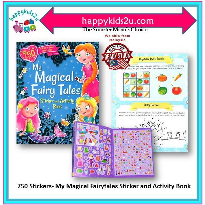 [Ready Stock] My Magical Fairytales Sticker and Activity Book (Giant S & A Fairytale Fun)