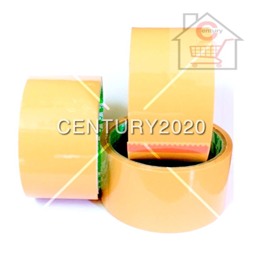 Brown OPP Tape Adhisive Packaging 48mm 1 PCS