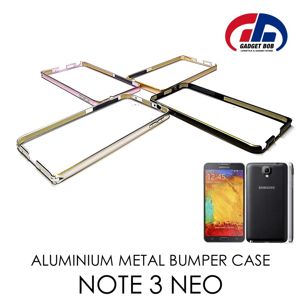 [READY STOCK] Aluminum Metal Bumper Case for Samsung Galaxy Note 3 Neo (N7505) | Shopee Malaysia
