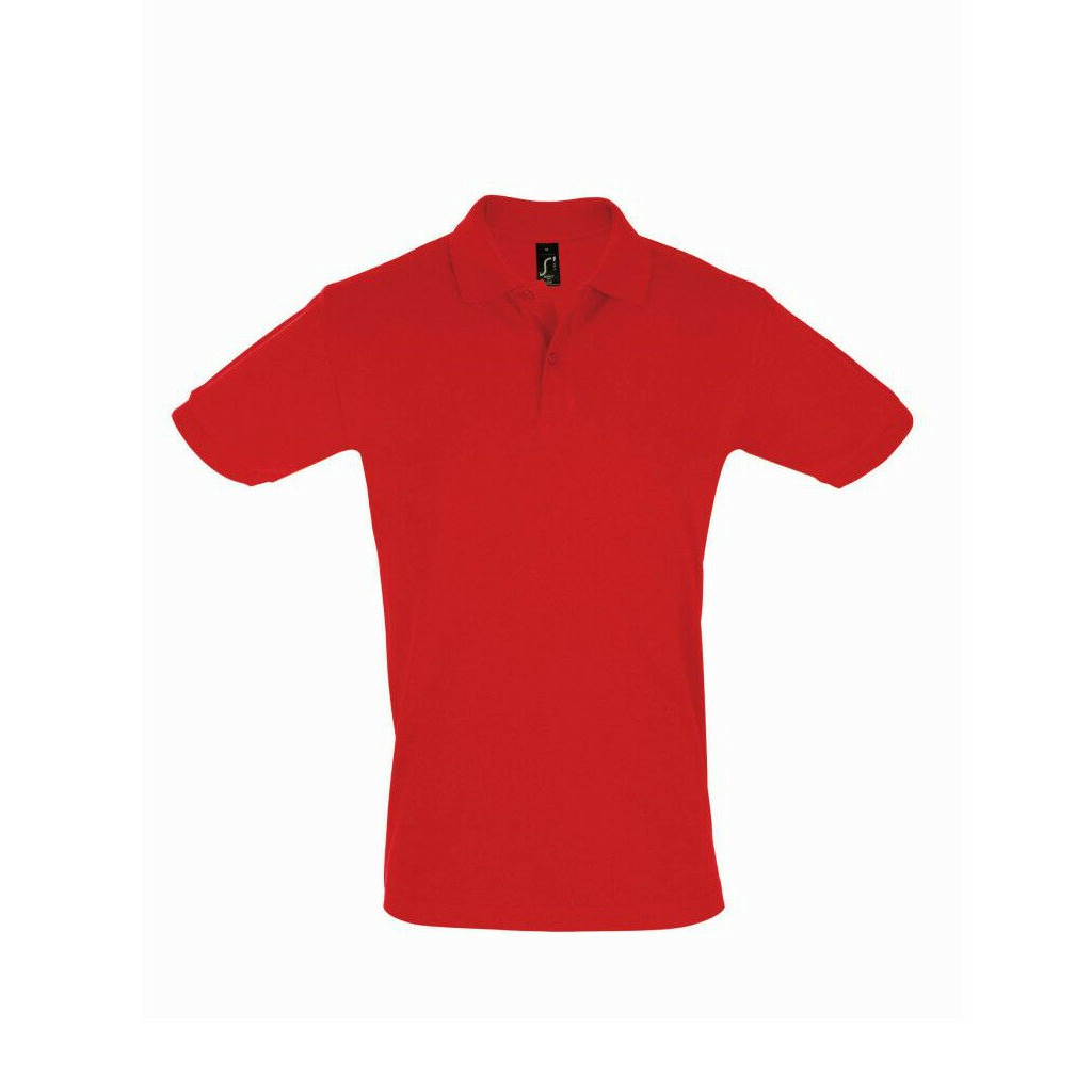 SOLS Mens Perfect Cotton Pique Short Sleeves Polo Shirt Collar Tops Casual Cosy