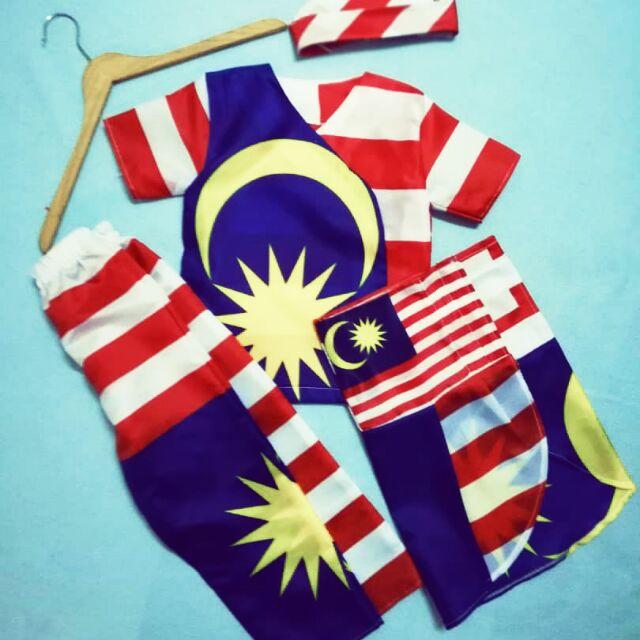 Baju Merdeka Budak Lelaki Baju Bendera Boy Shopee Malaysia