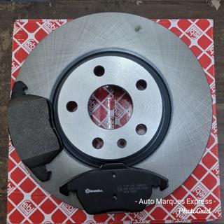Brembo Front Disc Ceramic Brake Pads Set For Audi Q3 Quattro VW Passat Tiguan