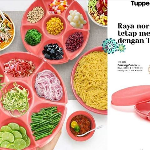 tupperware large serving centre