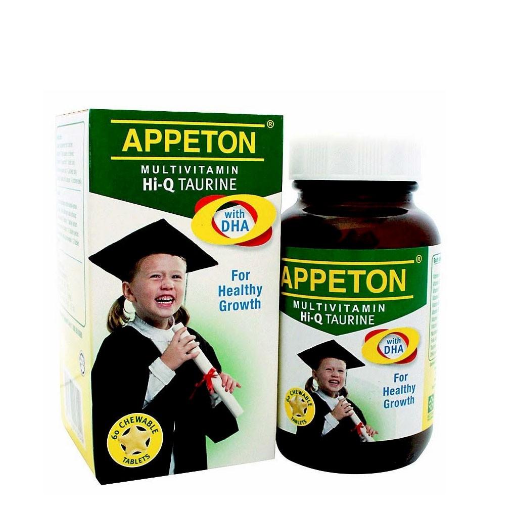 Appeton Multivitamin Hi-Q Taurine & DHA 60 Chewables