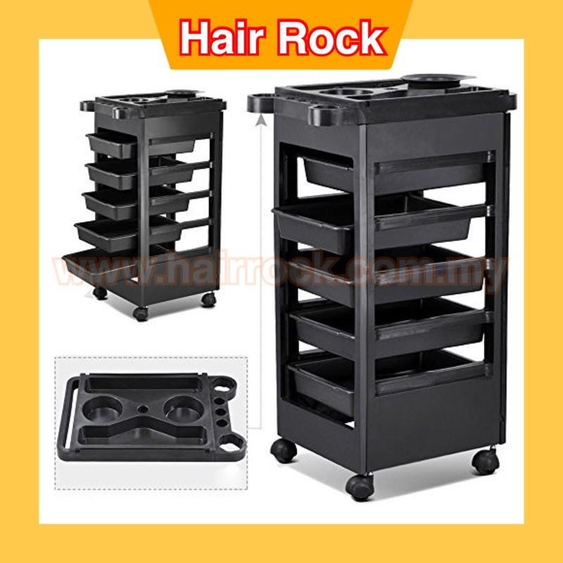 Salon SPA Trolley Storage Cart Coloring Beauty Salon Hair Dryer Holder W/wheels(HD188)