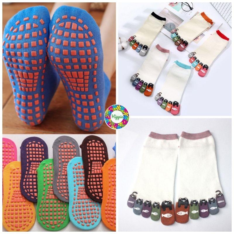 Anti Slip Socks Toe Socks Stokin Hipster Yoga Ankle Socks Finger Socks
