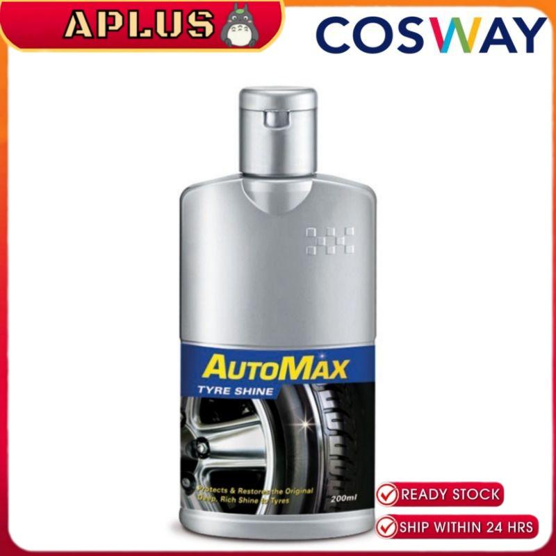 Cosway AutoMax Polish tayar silicone jernih - Silicone Tyre Shine 100% silicone