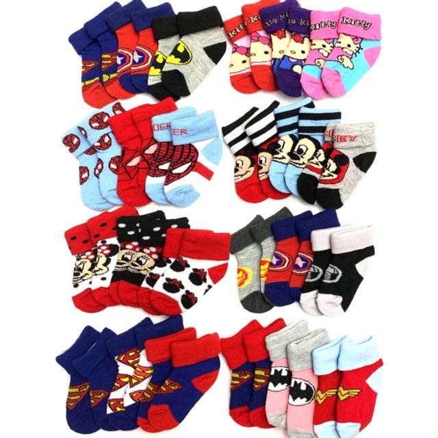 5 pairs of Pretty Baby Girls socks 6-12 months