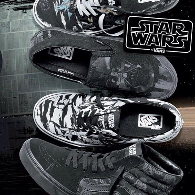 fd7d184c51 Vans X starwars