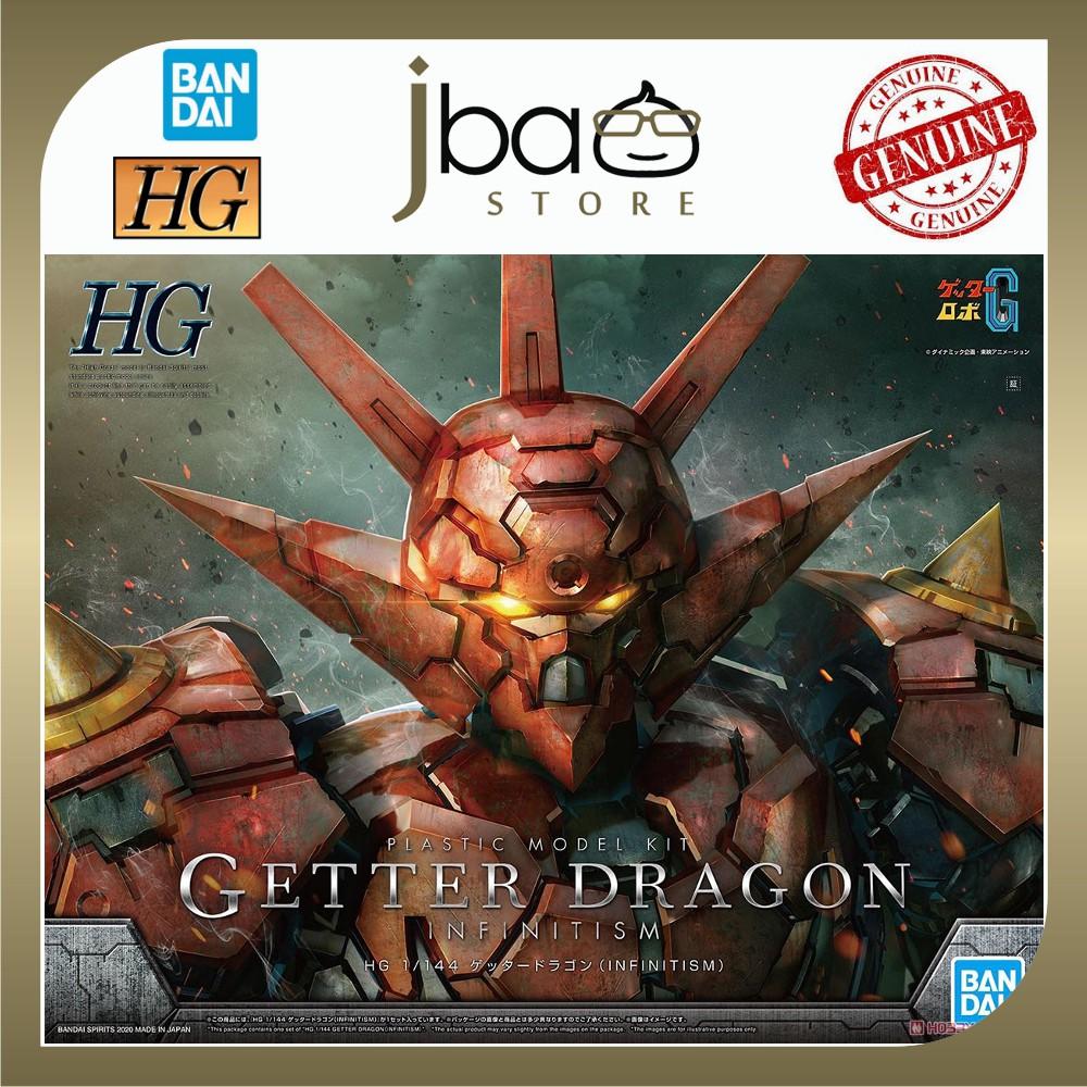 Bandai 1/144 Getter Dragon Infinitism HG Getter Robo Plastic Model Kit