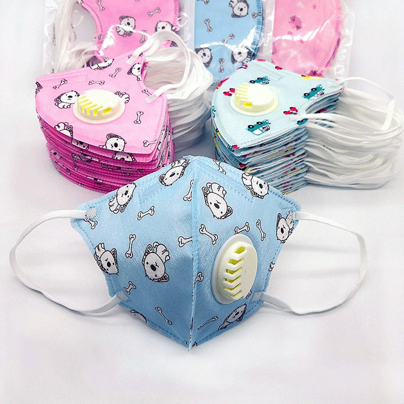 Against Masks Disposable Breathable Winter Germs Boy Girls N95 Mask✟✉children Dustproof Baby Autumn Haze