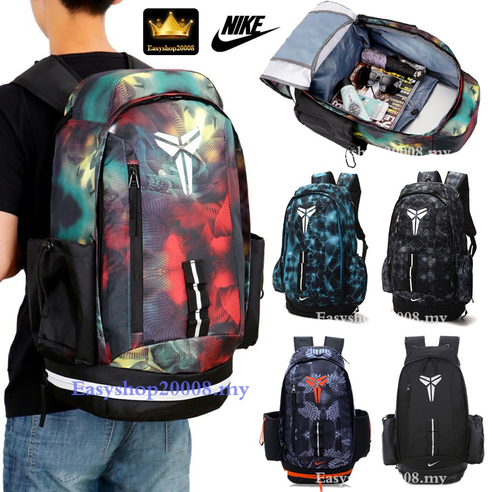4b850cd93f Ready Stock Nike NBA Kobe Large Laptop Outdoor Sports Travel Backpack  basketball